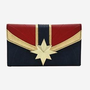 NWT Captain Marvel wallet
